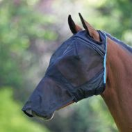Shires Fine Mesh Fly Mask with Ear Holes and Nose