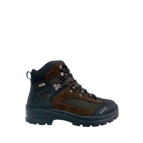 Aigle Boots. Huntshaw - Dark Brown