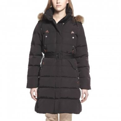 Aigle Ladies Coat. Cuckmerry - Night or Ebene