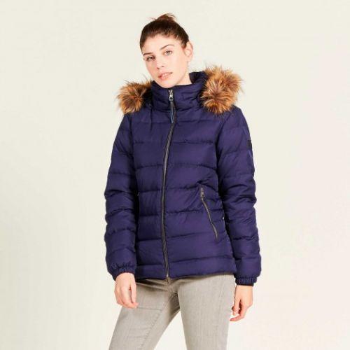 Aigle Ladies Jacket. Rigdown Short - Indigo Blue