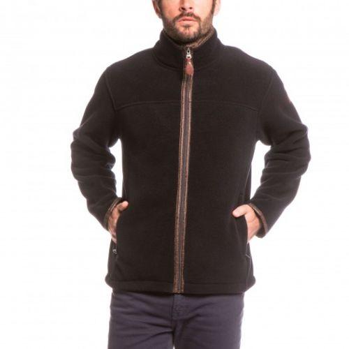 Aigle Mens Jacket. New Garrano - Night Blue