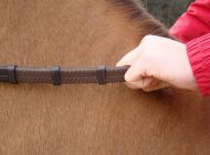 Vespucci Hand Grip Rubber Reins- Jump Length