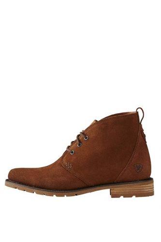 Ariat Ladies Boots. Henley - Bronze Brown