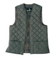 Barbour Quilted Zip in Waistcoat