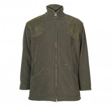 Barbour Mens Fleece Jacket. Dunmoor - Olive