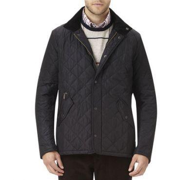 Barbour Mens  Jacket. Chelsea Sports Quilt - Black