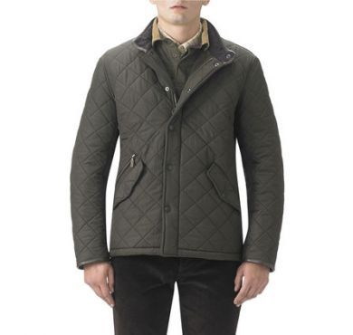 Barbour Mens Jacket. Powell - Navy or Olive