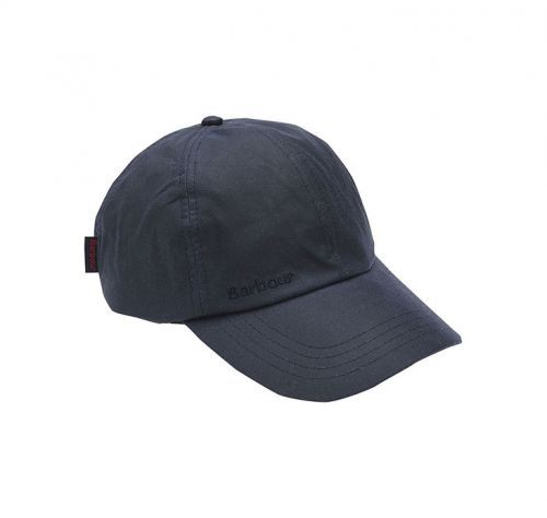 Barbour Wax Sports Cap. Navy or Olive