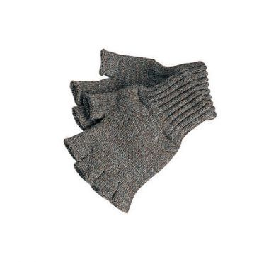 Barbour Fingerless Gloves. Green