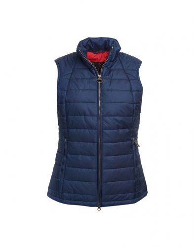 Barbour Ladies Gilet. Dovecote - Navy or Red