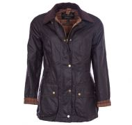 Barbour Ladies Wax Jacket. Beadnell - Rustic