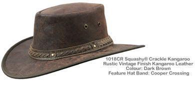 Barmah Squashy Roo Hat 1018
