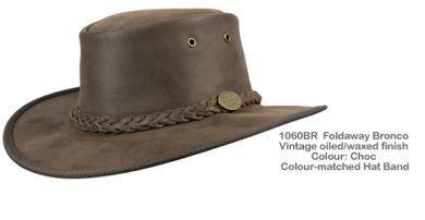 Barmah Foldaway Bronco Hat 1060