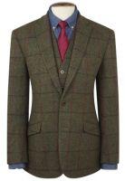 Brook Taverner mens Jacket. Oransay - Harris Tweed
