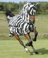 Bucas Buzz-off Zebra Full Neck Rug