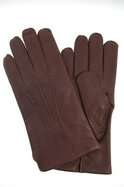Dents Mens Deerskin Gloves. Cambridge - Black or Bark