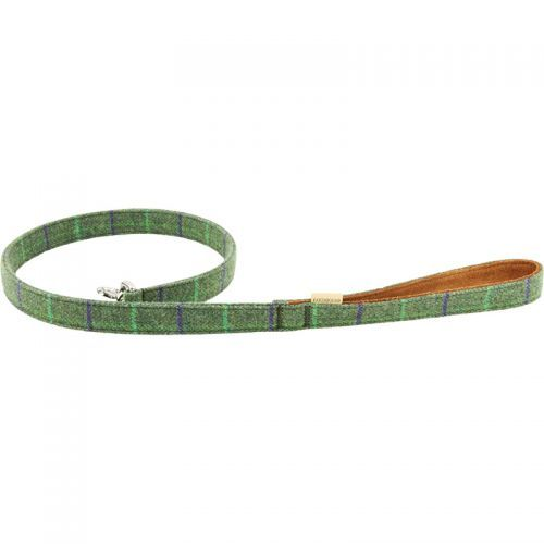 Earthbound Tweed Dog Leads. 2 Colours