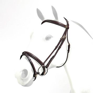 Emporio by Equipe Flash Bridle with Stitching
