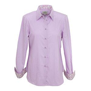 Hoggs Ladies Shirt. Bonnie - Lavender