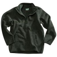 Hoggs Mens Fleece Jacket. Milton - Green