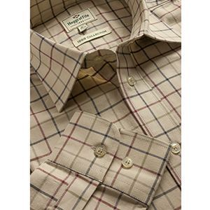 Hoggs Mens Shirt. Chiefton - Lovat
