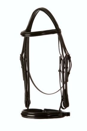 Jeffries Premium Double Bridle with show noseband