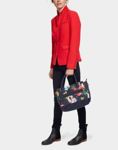 Joules Bag. Day To Day Canvas - French Navy Posy