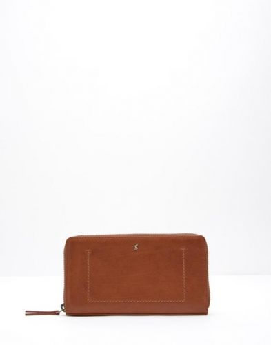 Joules Purse. Fairford Leather - Chesnut