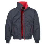 Musto Mens Jacket. Snug Blouson. Navy/True Red