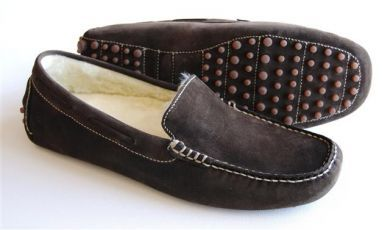 Orca Bay Mens Slippers. Mohawk - Brown