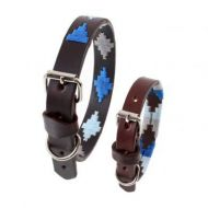 Pampeano Dog Collar. Cielo