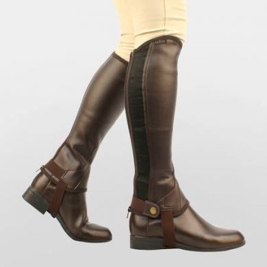 Saxon. Childrens Equileather Half Chaps
