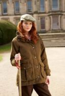 Sherwood Forest Ladies Jacket. Norwood - Moss/Olive