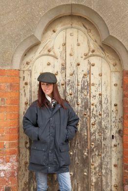 Sherwood Forest Unisex Jacket. Classic Padded Wax