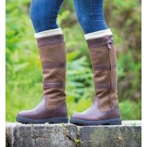 Shires Ladies Boots. Moretta Nella - Brown