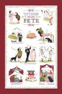 Tea Towel - Tottering Village Fete