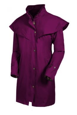 Target Dry Ladies Outrider2 3/4 length Coat. Jet Black or Mulberry