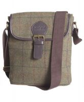 Toggi Messenger Bag. Avery - Castleton Tweed