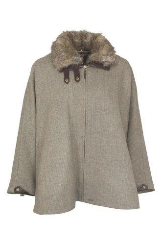 Toggi Blyth Tweed Cape - Glencoe Teed