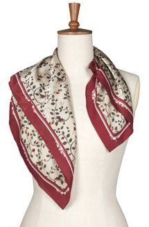 Toggi Ladies scarf. Swinford - Claret
