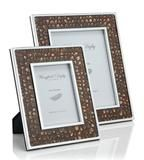 Wingfield Digby Cock Pheasant Feather & Glass Photo Frame
