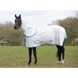 Weatherbeeta Kool Coat Combo White/Blue