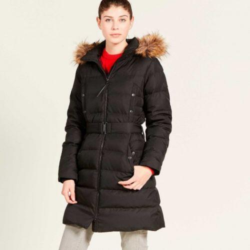 Aigle Ladies Jacket. Rigdown Long - Noir