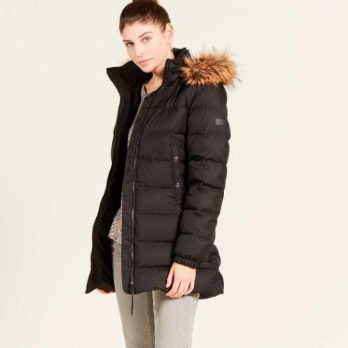Aigle Ladies Jacket. Rigdown Mid - Noir or Dark Navy