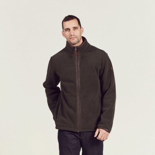 Aigle Mens Jacket. New Garrano - Bronze