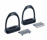 Amerigo Carbon Stirrups with grips