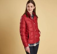 Barbour Ladies Jacket. Gondola - Red
