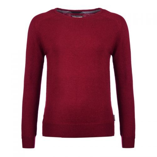 Barbour Ladies Jumper. Mill Crew - Carmine or Oxford Blue