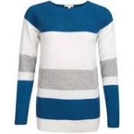 Barbour Ladies Jumper. Oyster - Off White