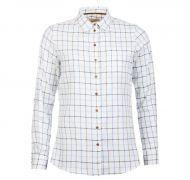 Barbour Ladies Shirt. Triplebar - Oxford Blue